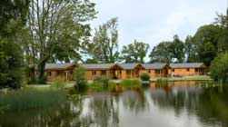 Our lodges are all close to the lakeside
