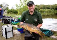 Coarse fishing at Bron Eifion